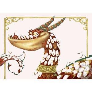 Tableaux à métalliser dragons - Djeco