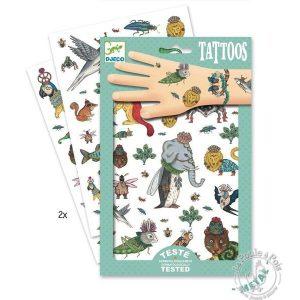 Tatouages bestiaire - Djeco