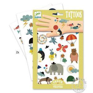 Tatouages jolies petites choses - Djeco