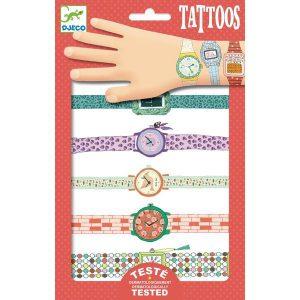 Tatouages les montres de Wendy - Djeco
