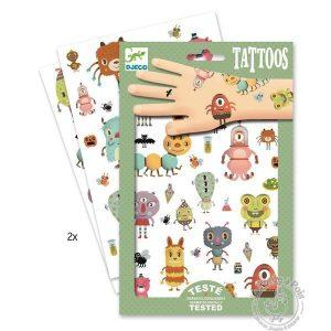 Tatouages monstres - Djeco