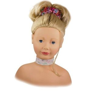 Tête à coiffer et à maquiller blonde - Götz