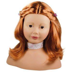 Tête à coiffer et à maquiller rousse - Götz