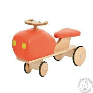 Tracteur rétro orange Les cousins - Moulin Roty
