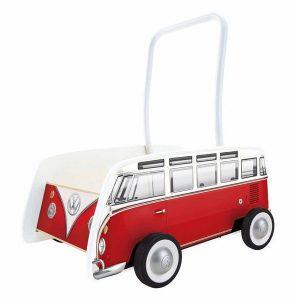 Trotteur combi Volkswagen rouge - Hape