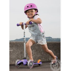 Trottinette 3 roues violet - Micro Mobility
