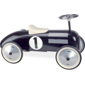 Voiture porteur métal Vintage noir - Vilac