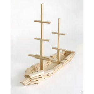 Kapla idée de construction bateau