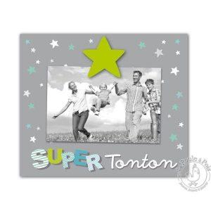 Cadre photo Tonton oncle cadeau enfant décoration