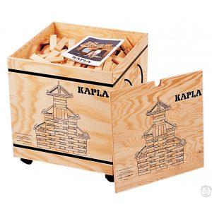 Kapla Caisse de 1000 pièces en bois