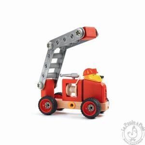 Camion de pompier à assembler