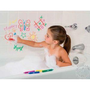 Crayons pour écrire dans le bain