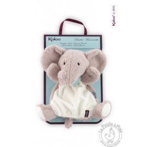 Doudou Marionnette douce Éléphant
