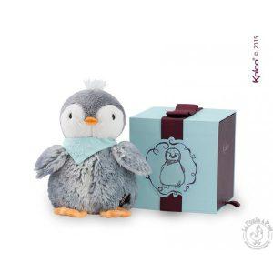 Pingouin en peluche toute douce