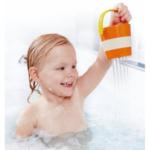 Jouet bain enfant seau fontaine