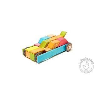 Jeu de construction en bois magnétique - TEGU