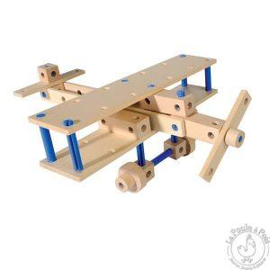 Modèle de construction en bois pour enfant