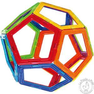 Construction sphère pièce magnétique
