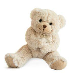 Ours en peluche beige cadeau naissance