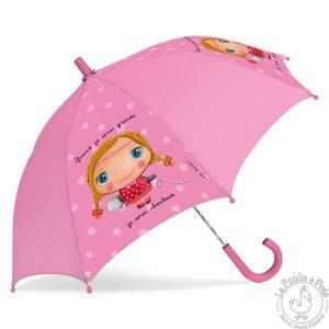 Parapluie rose Chanteuse - Quand je serai grande
