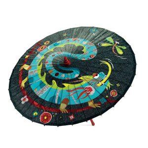 Parapluie noir Libellule et Dragon - Djeco