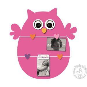 Pêle-mêle photo pour fille rose