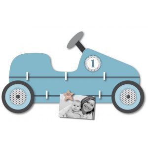 Pêle-mêle photo pour garçon voiture bleu
