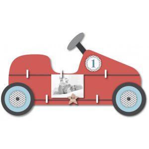 Pêle-mêle pour garçon voiture rouge