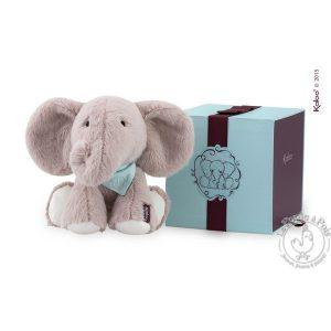 Éléphant en peluche pour enfant