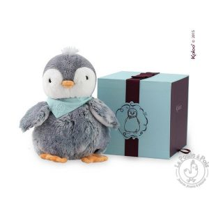 Pingouin en peluche doudou enfant