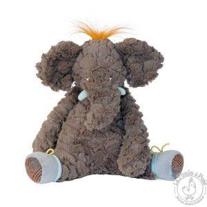 Éléphant en peluche douce pour enfant