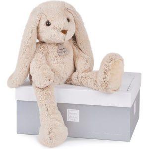 Grand lapin en peluche pour bébé