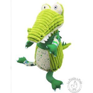 Alligator en peluche originale en velours