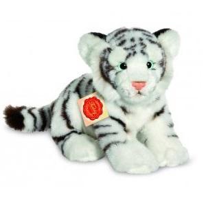 Tigre blanc en peluche pour enfant