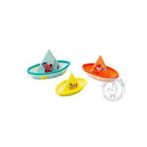 Petits bateaux de bain jouet bébé - Lilliputiens