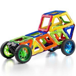 Construction voiture pièce magnétique