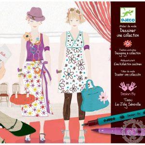 Dessiner une collection Cadeau fille Atelier de mode