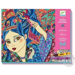 Loisirs créatif pour adolescente dessin coloriage