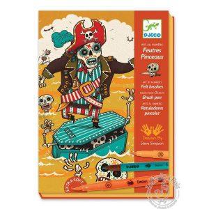 Loisirs créatif pour garçon pirate coloriage