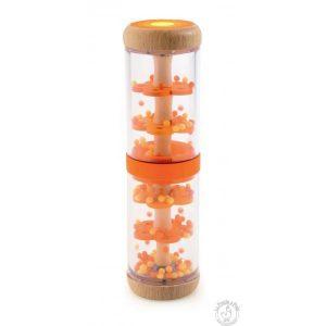Bâton de pluie orange pour bébé et enfant