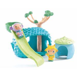 Figurine pour enfant 18 mois cabane toboggan