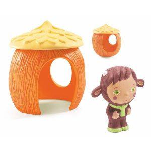 Figurine en plastique pour bébé personnage