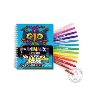 Cahier de coloriage animaux pour enfant