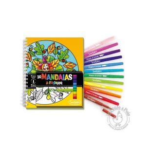 Kit d'éveil artistique Coloriage pour ado