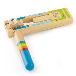 Crécelle en bois pour enfant instrument de musique
