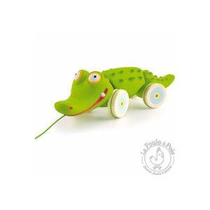 Crocodile à promener jouet à tirer enfant 12 mois