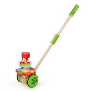 Jouet à pousser en bois pour enfant 1 an