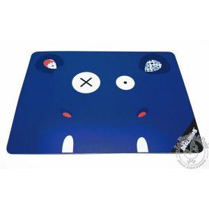 Set de table bleu pour repas petit garcon