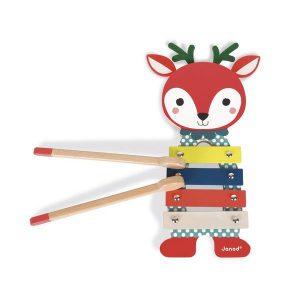 Petit xylophone en bois pour enfant